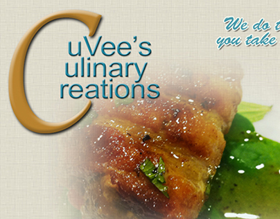 CuVee's Culinary Creations Website
