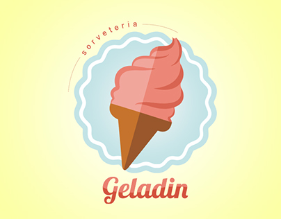 Sorveteria Geladin - Id. Visual