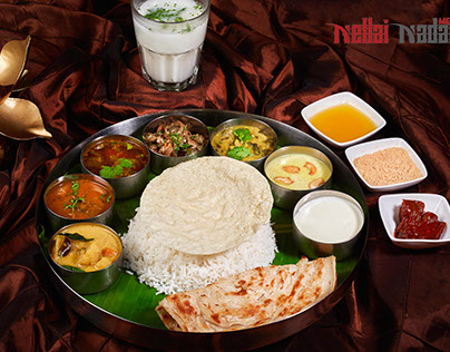 Food Shot for Nellai Nadar Typical South Indian Style
