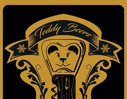 Logo Roller Derby Teddy Beers