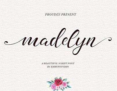 Madelyn Script - Modern Calligraphy