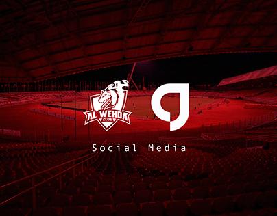 Alwehda Sport Club - Social Media