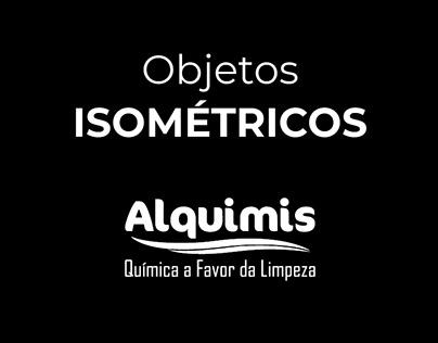 Objetos Isométricos - Alquimis
