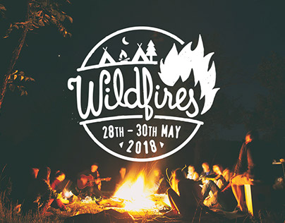 Wildfires Festival brand and website