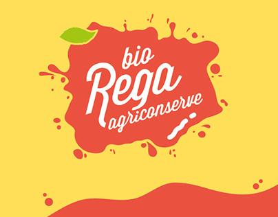 REGA agriconserve | label design
