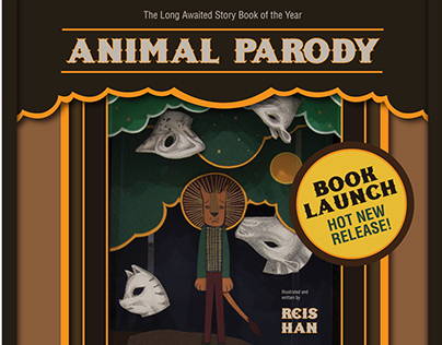 Publication Design - Animal Parody Illustration Book