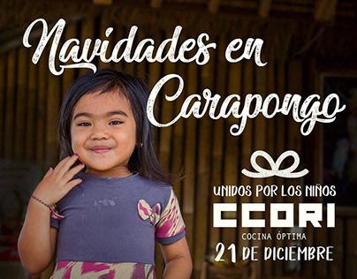 Diseño, fotografía y video /Navidades en Carapongo