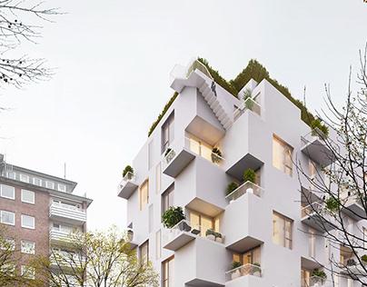 Apartment complex / Doppleiche Wedel
