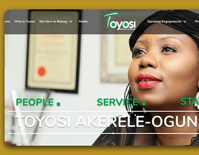 Toyosi Personal Website
