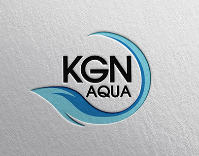 "REYHAN PİR - ""KGN AQUA"" Su Arıtma Şirketi Logo Tasarımı"