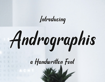 Andrographis - Simple Handwritten