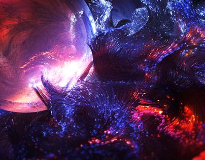 X-Particles Artwork III