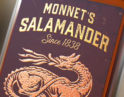 Monnet's Salamander Cognac