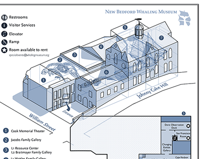 New Bedford Whaling Museum Map
