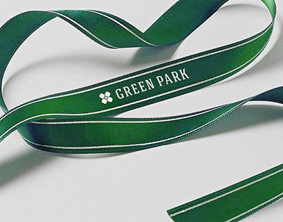 Green park hotel identity
