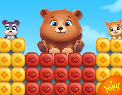 Pet Rescue Puzzle Saga: App Store Assets