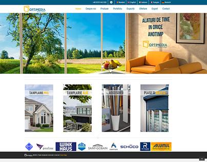 Optimedia Windows&Doors website