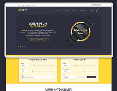 Grampays - Gold E-Commerce Web