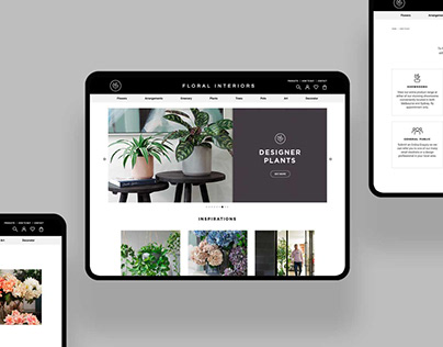 Floral Interiors Online Store
