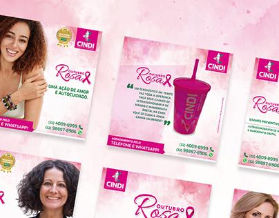 Outubro Rosa | Clínica CINDI