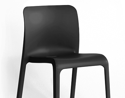 3D Product Visualization : Origin POP Stacking Chair