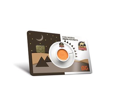 Cartão Cafés Camelo · Comercial