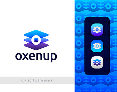 O + Software Development Logo Mark for Sale
