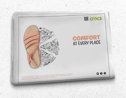 CROCS CAMPAIGN Press AD
