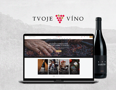 Tvojevino.sk - Webdesign, Brand Identity, Communication
