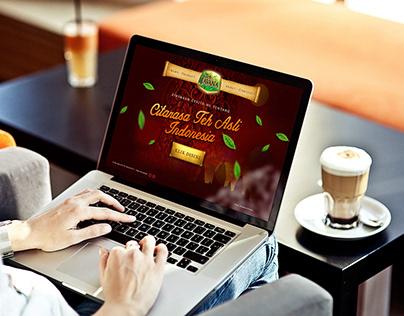 Teh Javana Website