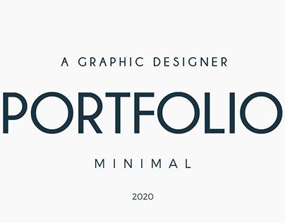 Minimal Portfolio 2020 (For Graphic Designers)