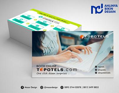 Design Card Ayola Hotel Mojokerto