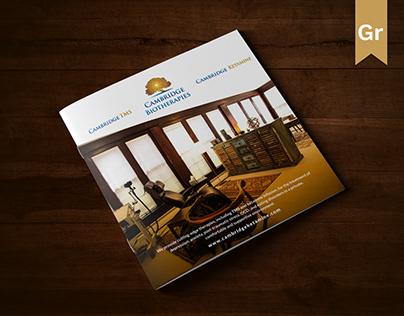 Brochure Design for Cambridge Biotherapies