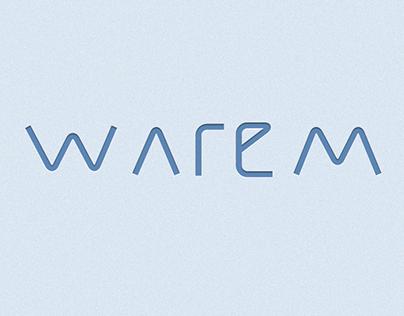 Warem Logo - Design process