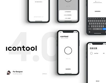 iconTool 4.0 - App Logo Desktop Preview Tool