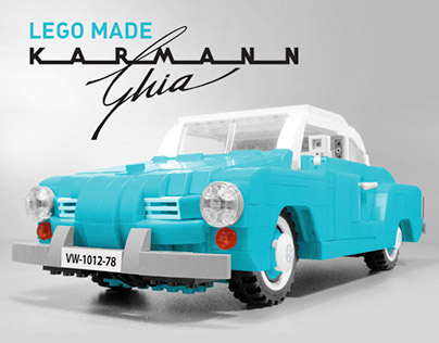 Volkswagen Karman Ghia - a model for LEGO IDEAS