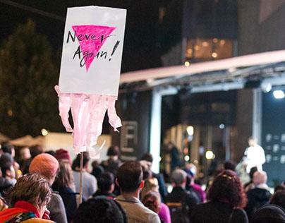 Melbourne Vigil for Gay Men in Chechnya