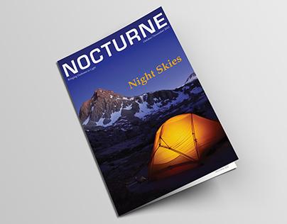 Nocturne Magazine Design