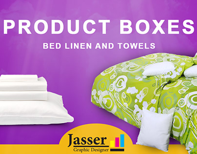 Product Box &bed linen and towels vol 2