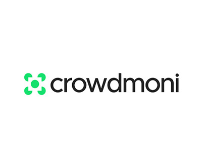 Crowdmoni Logo design