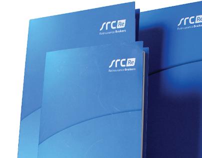 SRC Reinsurance Brokers | VISUAL IDENTITY