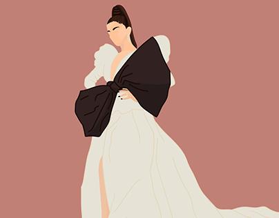 Vogue x Dyson | Branded content illustrations
