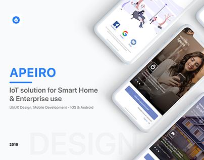 Apeiro Sense - Smart Home IoT Solution
