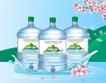 Namiwa - Nước uống chứa khoáng chất thiên nhiên