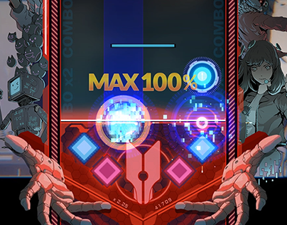 DJMAX RESPECT - Game Interface Design(Gear Design)