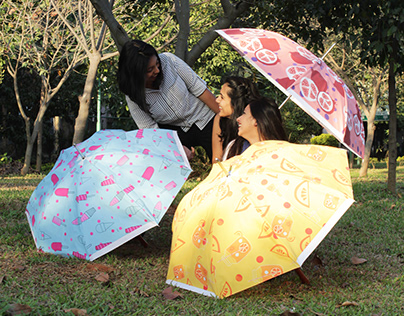 Chill//Illustrated Umbrellas