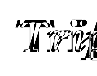 Typeface family «Triptych»