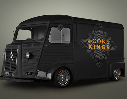 Cone Kings Premium Frozen Yogurt