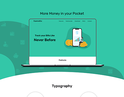ExpenseEsy website presentation