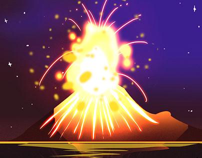 Vulkaan Krakatau (Anak Krakatau), Straat Soenda (Indonesia) - feiten &  informatie / VolcanoDiscovery: / VolcanoDiscovery